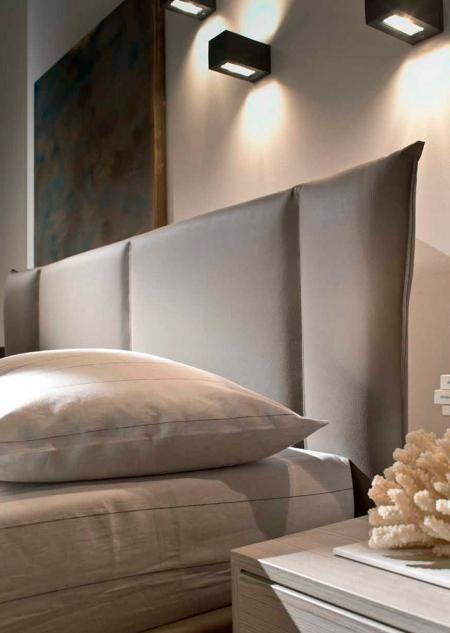 Кровать Magic 180x200, экокожа bloom grigio 204, с подъемным механизмом