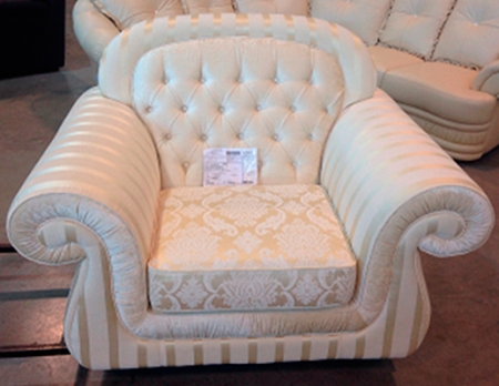 Комплект Vivaldi трехместный диван и два кресла