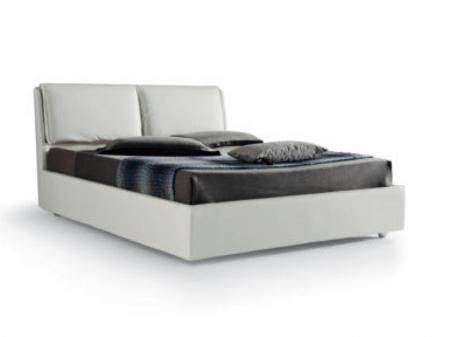 Кровать Edra экокожа / ткань