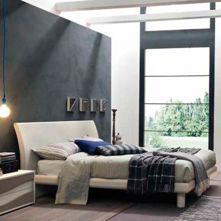 Кровать Orion 160x200, frassino белый