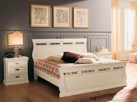 Кровать Venere avorio 160x200 с изножьем