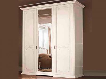 Шкаф Afrodita avorio, трехдверный, 1 зеркало