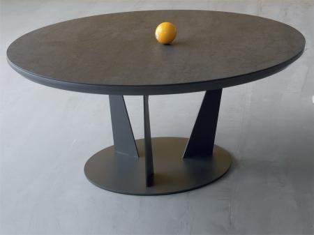 Стол журнальный Birdy Keram, светло-серый