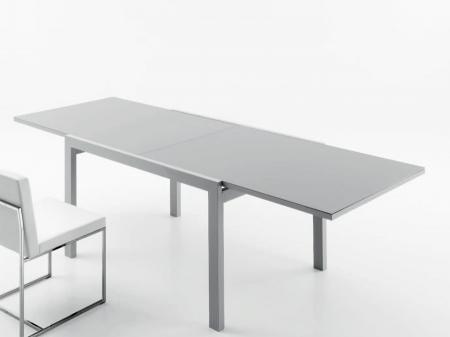 Стіл розкладний Eko 120  + 120, сірий