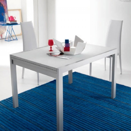 Стол раскладной Eko 120 + 120, серый