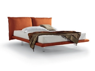 Кровать Arcade экокожа / ткань