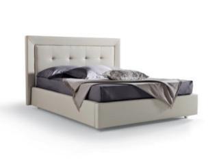 Кровать Deo экокожа / ткань