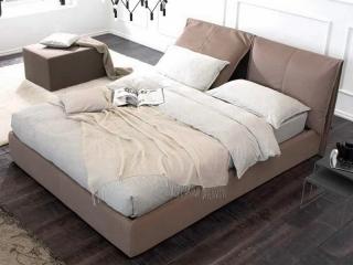 Кровать Harry 180x200 экокожа cat. NICE, ALCHE, var.750, с подъемным механизмом