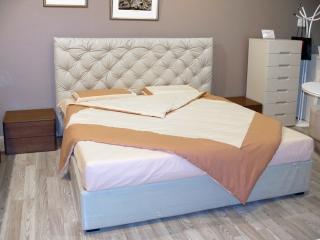 Кровать Ninfa 160x195 ткань Missmacchio Tortora, с подъемным механизмом