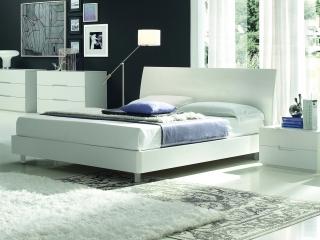 Кровать Vela меламин / фрассино / лак