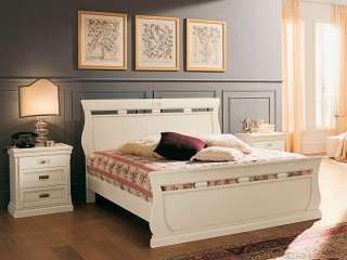 Кровать Venere avorio 180x200 с изножьем