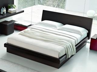 Кровать RIVER 160x200, венге, с подъемным механизмом