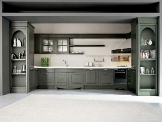Кухня Imperial 105 CHARME, декапированный ясень