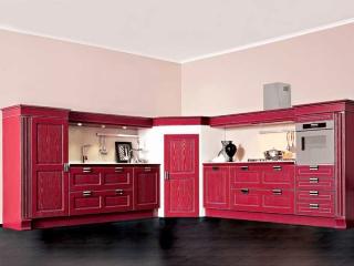 Кухня Imperial 139 GLAMOUR, MDF, oroargento