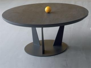 Стол журнальный Birdy Keram, жемчужно-серый