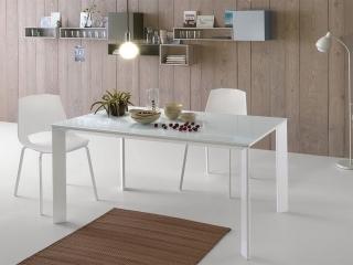 Стіл розкладний EGO, 140 + 40, меламін Larice Bianco 8A