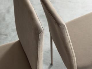 Стул Gulia2, creta lucido, ткань creta