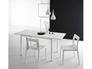 Стол раскладной LIGHT, 130 + 50, меламин Olmo Perla 8G