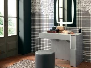 Столик туалетный Prestige Mini, frassino белый