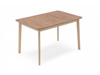 Стіл розкладний DINE 120 + 50, меламін лісовий горіх