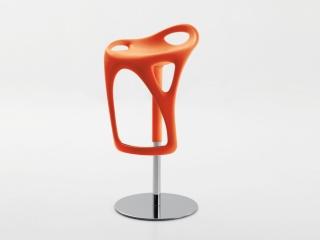 Стул барный Form, регулируемый, оранжевый