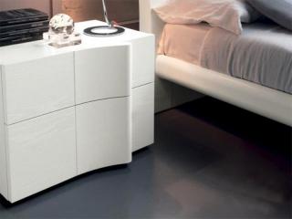 Тумба прикроватная ARMONIA Mini, frassino, белая