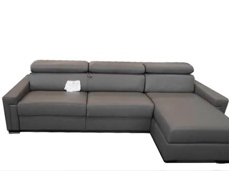 Угловой диван кровать Sacha, кожа