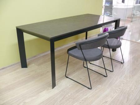 Стол раскладной BARON, 130+60, бронза оксид