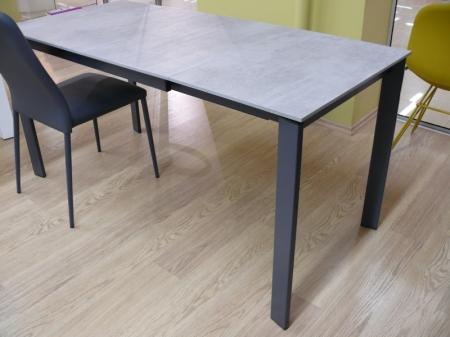 Стол раскладной EMINENCE 110 + 45, ламинат, BETON