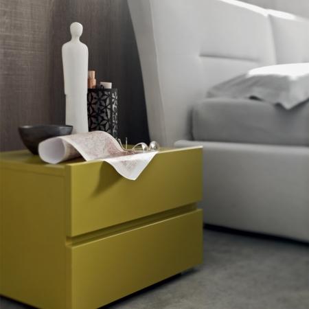 Кровать Elio экокожа / ткань