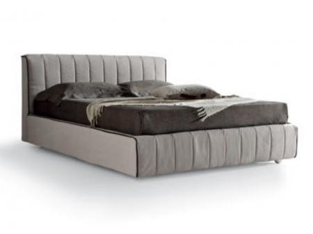 Кровать Oliver экокожа / ткань