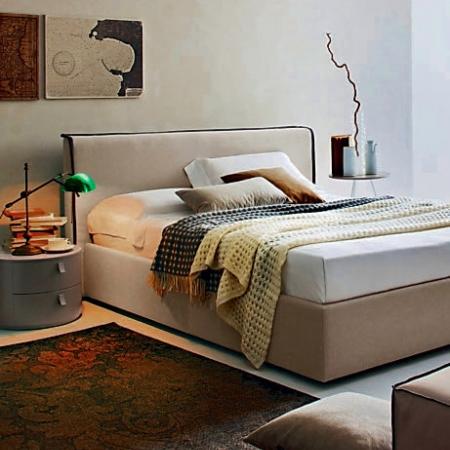 Ліжко River екошкіра / тканина
