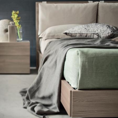Кровать Sky меламин / фрассино / лак