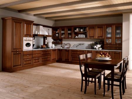 Кухня кутова 2585x2100, Etrusca