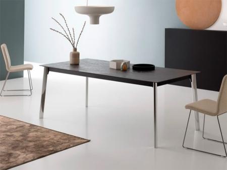 Стол раскладной INFINITI, 160 + 40 +40, керамика Grigio Oxide
