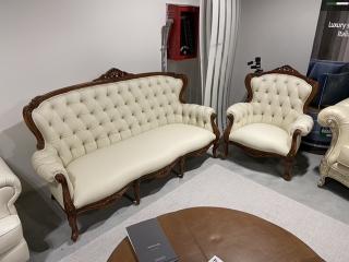 Диван Bach тримісний та крісло