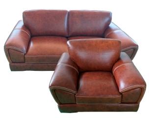 Комплект PALADIUO трехместный, двухместный диван, кресло