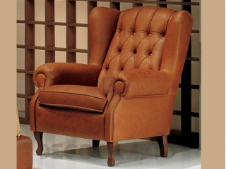 Кресло DAVEMPORT, кожа