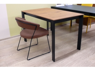 Стол раскладной EMINENCE 110 + 45, ламинат, TOBACCO OAK