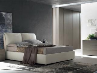 Ліжко Edra екошкіра / тканина