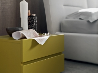 Ліжко Elio екошкіра / тканина