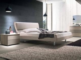 Кровать Musa 160x195, larice, с подъемным механизмом
