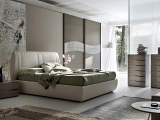 Кровать Soft экокожа / ткань