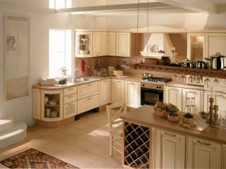 Кухня кутова 2585x2100, Provenzale