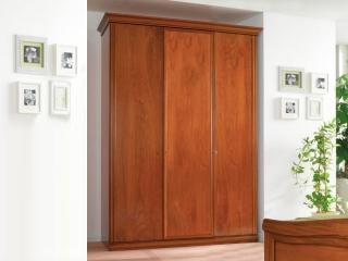 Шкаф Beatrice орех, трехдверный, высокий