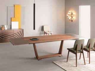 Стол раскладной Oblique Canaletto 200 + 45 + 45, орех