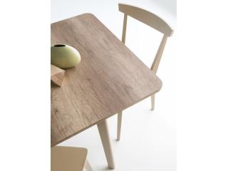 Стол раскладной DINE 120 + 50, меламин лесной орех