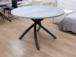 Стіл TWISTER 120, меламін beton grey