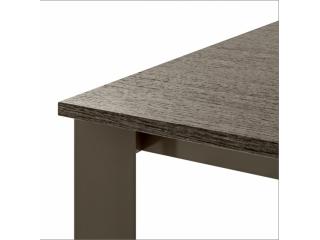 Стол раскладной Zen Plus 120 + 40, creta, rovere grigio